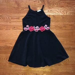 Rose Patch Dress (Girls)